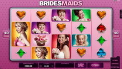 Игровой автомат Bridesmaids